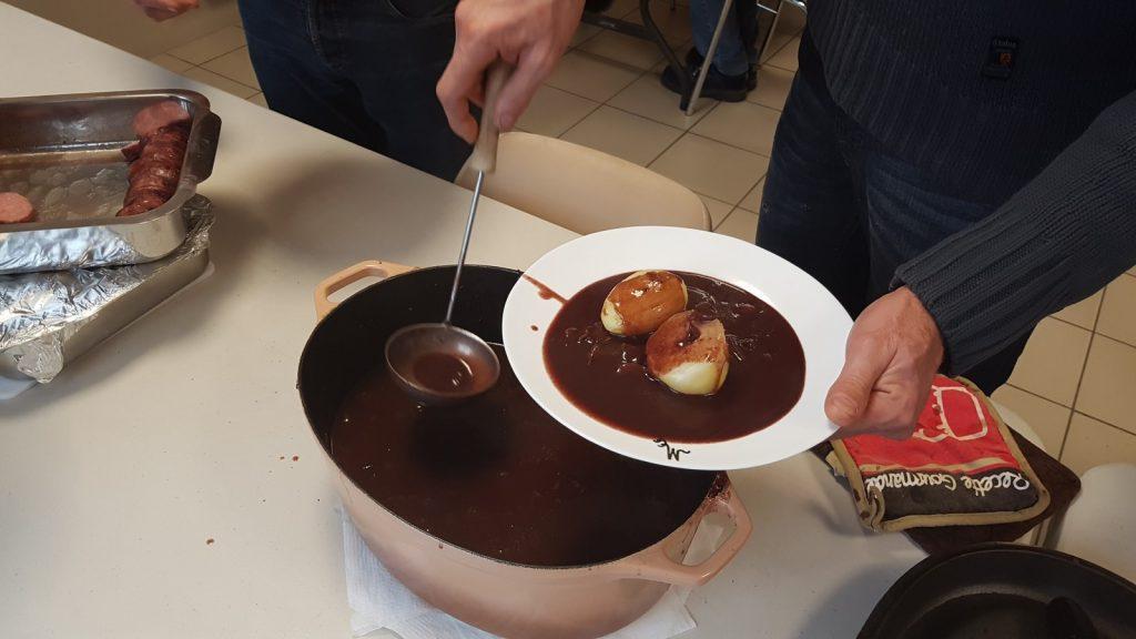Repas Saucisson Beaujolais 2017