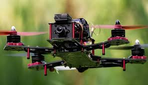 FPV drone race