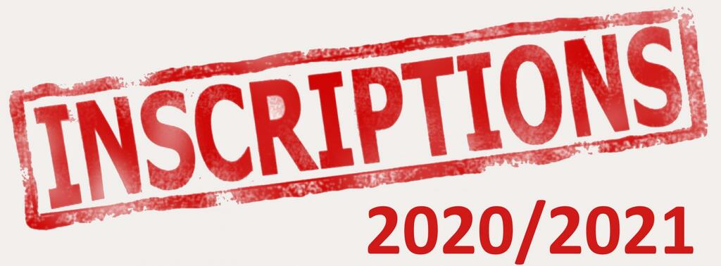 Inscription nouvelle saison 2020 / 2021 et annulation INTER CLUB
