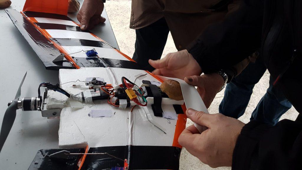 Essai d'une aile volante… originale !