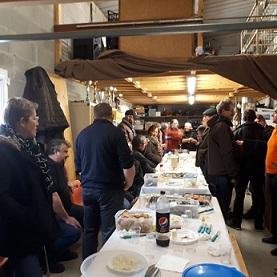 Dégustation huîtres et saumon 2018